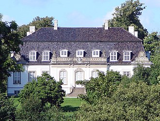 Frederiksdal House - The house seen from the garden