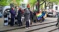 Free Palestine activists in Norwich, England.jpg