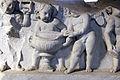 Fregio traianeo con amorini, dall'architrave del primo ordine interno della cella del tempio di venere genitrice, nel foro di cesare, 113 dc, 02.JPG