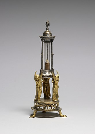 Reliquary - Franco-Flemish Gothic philatory for a finger bone, late 15th century (Walters Art Museum)