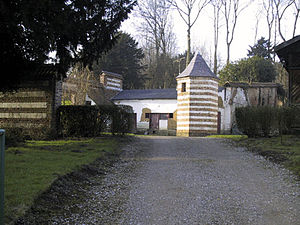 Fressin - Pigeon house at the home of Bernanos