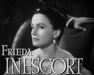 Frieda Inescort Scottish actress