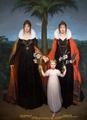 Friedrich Bury Wilhelmine und Auguste von Preußen mit Marie Frederica.png