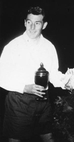 Fritz Walter - Fritz Walter with Kaiserslautern in 1956.