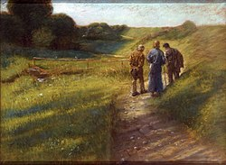 Fritz von Uhde: Road to Emmaus