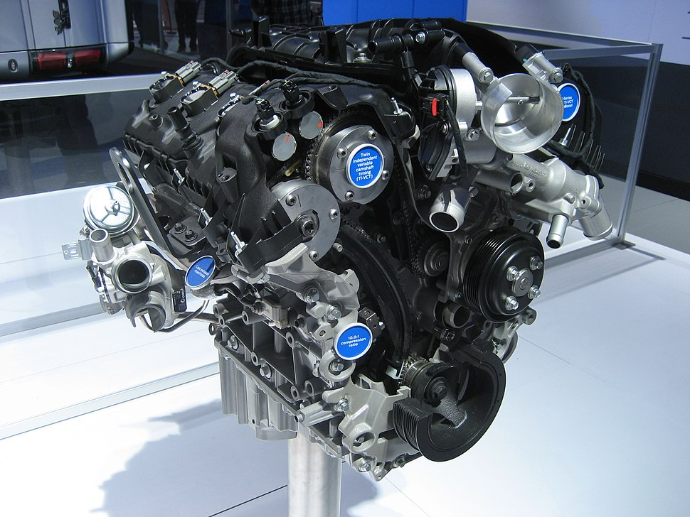Ford EcoBoost engine - Howling Pixel