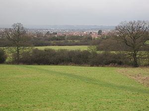 Fryent Country Park - Image: Fryent Country Park view north