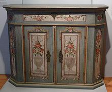 Credencia wikipedia la enciclopedia libre - Nombres de muebles antiguos ...