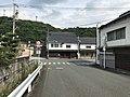 Fukuoka Prefectural Road No.445 on east side of Tentobashi Bridge.jpg