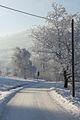 Góry Izerskie, Czerniawa Zdrój, ul. Spokojna zimą - panoramio.jpg