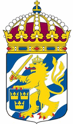 Göteborgs garnison heraldiske våben.   PNG