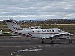 G-NIAB Beech Super King Air 200C Woodgate Air Charter Ltd (26209787017).jpg