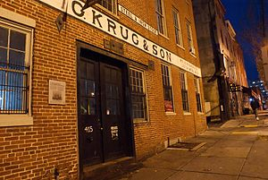 G. Krug & Son Ironworks and Museum - Image: G. Krug & Son Building Front