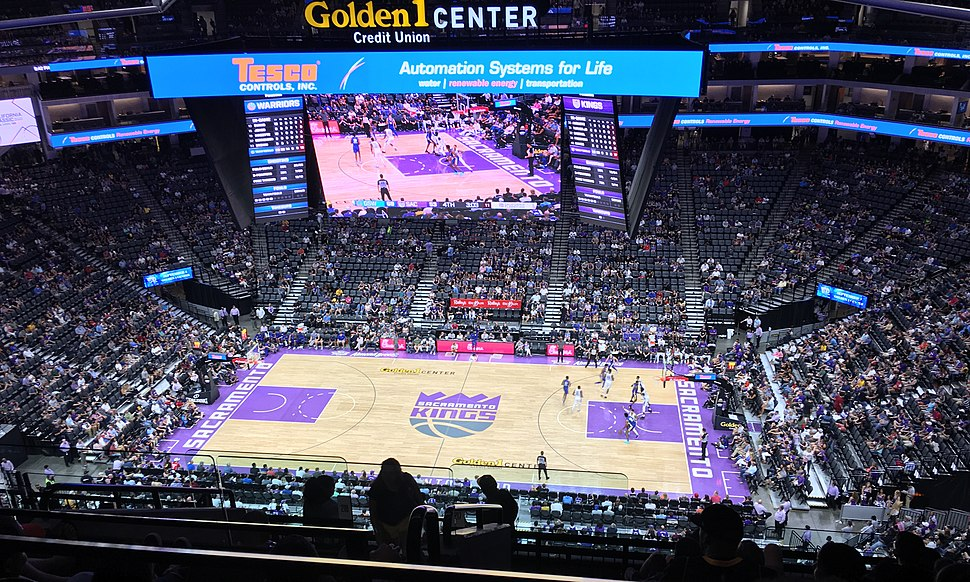 The Sacramento Kings at Golden 1 Center