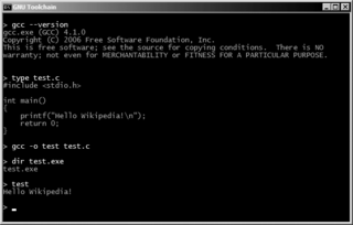 DJGPP Implementation of the GNU toolchain for DOS