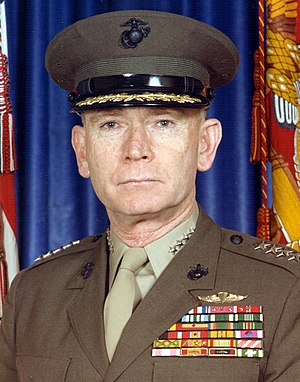 Paul X. Kelley - General Paul Xavier Kelley, United States Marine Corps 28th Commandant of the U.S. Marine Corps (1983–1987)