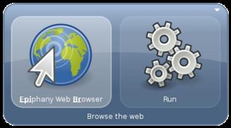 Mono (software) - GNOME Do