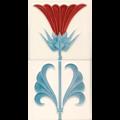 GOLEM Jugendstilfliese F53 (Set). Wandfliese in 15 x 15cm.png