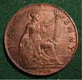 GREAT BRITAIN, EDWARD VII, 1905 -HALFPENNY a - Flickr - woody1778a.jpg