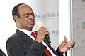 G V Krishna Reddy, Chairman, GVK Power and Infrastructure, talking about India's infrastructure, at the Horasis Global India Business Meeting 2009 - Flickr - Horasis.jpg