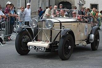 Talbot 105 - Image: Gaisbergrennen 2009 Stadtfahrt 015