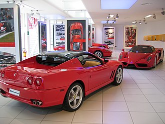 Museo Ferrari - Image: Galleria first floor