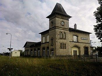 Berthelming station