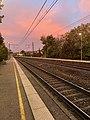 Gare de Saint-Maurice-de-Beynost et joli ciel (levée du soleil) en octobre 2020 (5).jpg