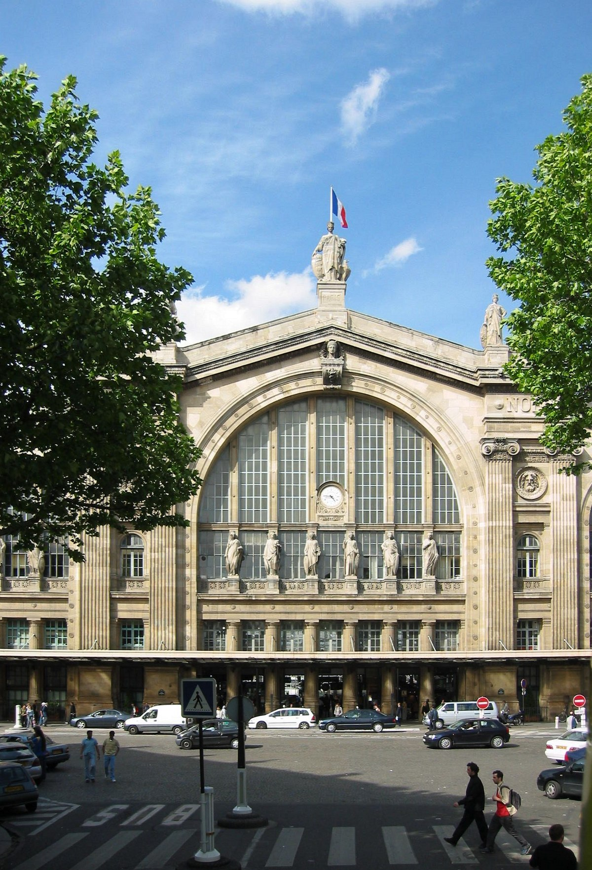gare du nord paris metro wikipedia. Black Bedroom Furniture Sets. Home Design Ideas