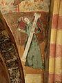 Gargilesse-Dampierre (36) Église Saint-Laurent et Notre-Dame Crypte Fresques 36.JPG
