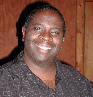 Gary Anthony Williams - Williams performing with Laughing Matters at Manuel's in May 2007