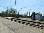 Gary Chicago Airport at Clark Road station (26645751705).jpg
