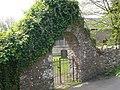 Gate to St Ceinwen's Church, Llangeinwen - geograph.org.uk - 1874494.jpg