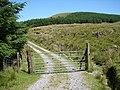 Gated track beside Trawsfynydd and Braich Ddu - geograph.org.uk - 1109209.jpg