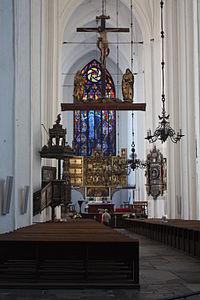 Gdańsk Kościół Mariacki 079