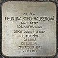 Gedenkstein für Leontina Schönhauserova (Brno).jpg