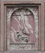 Gedenktafel 1720 Justinuskirche Höchst