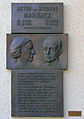 Gedenktafel Hasenheide 61 (Kreuzb) Arvid+Mildred Harnack.JPG