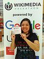 Geisa Santos, mentora e participante da Wikimedia Hackathon 2017 em Viena.jpg