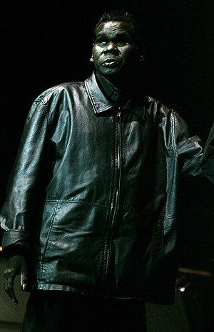Geoffrey Gurrumul Yunupingu - Geoffrey Gurrumul Yunupingu in November 2012