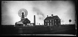 Hicksville, New York - George Bradford Brainerd. Soap Works, Hicksville, Long Island, 1878 (Brooklyn Museum)