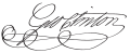 George Clinton Signature-rt.svg