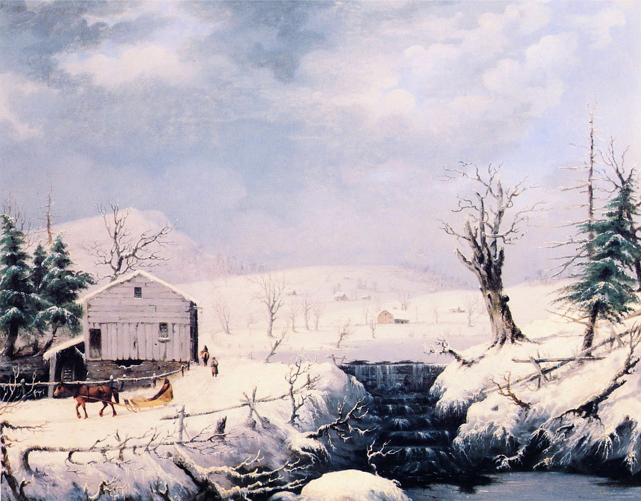 https://upload.wikimedia.org/wikipedia/commons/thumb/a/aa/George_Henry_Durrie_-_Winter_in_New_England.JPG/1280px-George_Henry_Durrie_-_Winter_in_New_England.JPG
