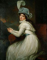Lady Hamilton as Ambassadress