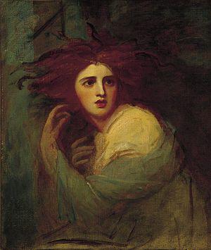 Teseo - George Romney – Lady Hamilton as Medea.