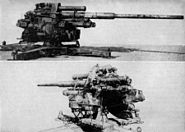 German 105 mm Flak 38 anti-aircraft gun