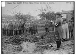 German Field chaplain burying French Officer who died in hospital LCCN2014703576.jpg