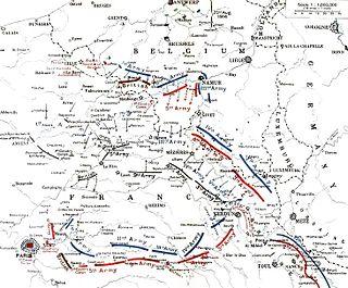 Battle of St. Quentin (1914) A battle during the First World War