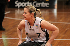 Germany vs Japan women's wheelchair basketball team at the Sports Centre(IMG 3467).jpg