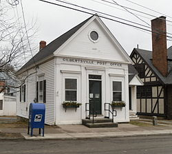 Gilbertsville Post Office, March 2010